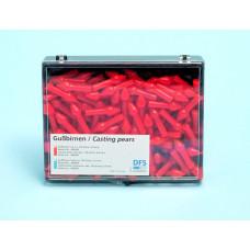 Hrušky na odlievanie voskov 8 mm, 150 ks