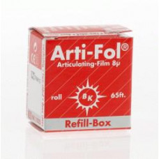 Tracing paper Arti-Fol 8u, double-sided, red BK1025 supplement