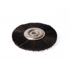 Black metal brush, diameter 50mm. Polyrapide