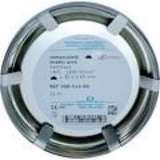 Remanium wire semicircular 1.5x0.75 mm