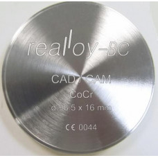 Realloy BC - CoCr milling disc 98.5 x 13.5 mm