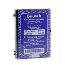 Pauzovací papír Bausch 10x7 cm, modrý, BK 11