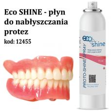 Płyn do nabłyszczania protez - miętowy Eco SHINE