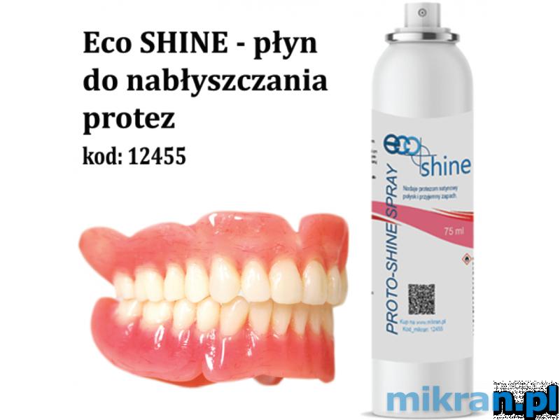 Denture polishing liquid - mint Eco SHINE