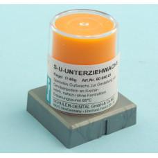 Orange cervical wax 45g Schuler Dental