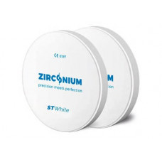 Zirconium ST White 98x18mm