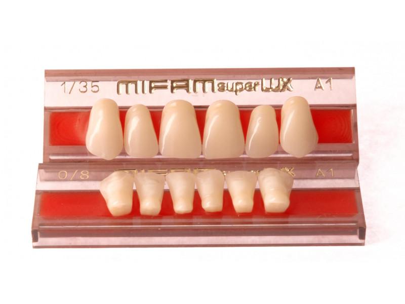 Zęby przednie MIFAM Super Lux 6 szt