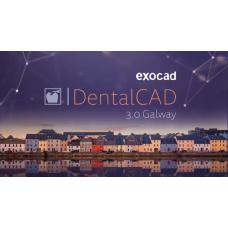Exocad® DentalCAD Galway 3.0 wersja CORE  oprogramowanie do projektowania