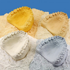 Gypsum, class IV, Hinristone Saphir Maize Yellow 5 kg