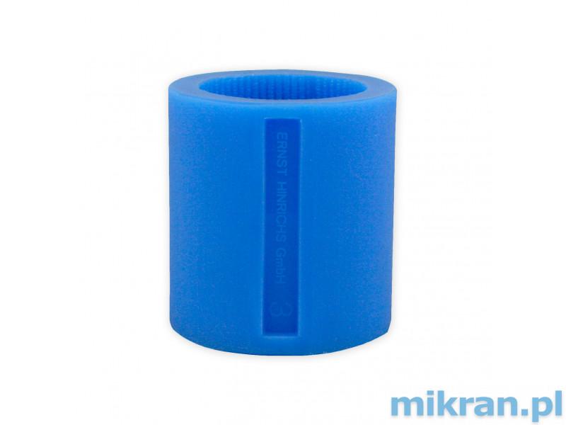 Pierścień silikonowy nr 3 niebieski