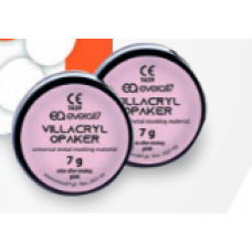 Villacryl Opaquer różowy 2x7g+12ml+wytrawiacz
