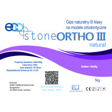Gips  III kl. Eco Stone Ortho 5 kg Natural biały