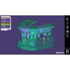 Exocad moduł Model Creator (modele do druku 3d)