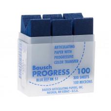 Obdélníkový přenosový papír, modrý, 100u (300ks / kazeta) BK51