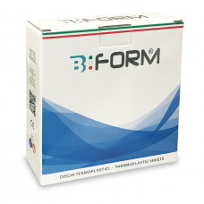 B-Form Hard Splint Foils 125x125mm 1.0mm (25pcs)
