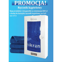 Bath towel promotion - for purchases of products from the mikran.pl promotional newsletter for min. 800 PLN -
