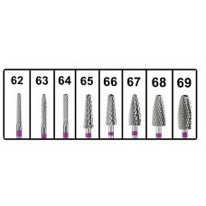Cutter mit violettem Streifen zum Mahlen von Cr-Co und Cr-Ni