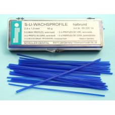 Wax profiles 2,0x1,0mm Schuler Dental