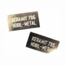 Złoto Keramit 785 - cena 1g. ( sprzedaż w/g wagi najmniejsze opakowanie ok 2 G )