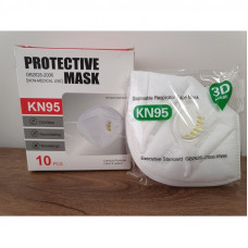 PROTECTIVE MASK (HALF MASK) TYPE FFP2 KN95 with valve / 2 pcs