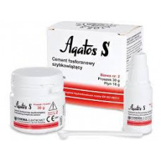 Agatos S quick-setting cement 30g + 18g liquid