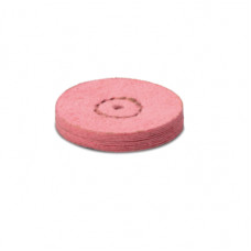 Chamois leather with pumice stone 22mm pink (2nd step) - EVE