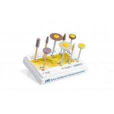 Diasynt Plus/Diapro zestaw do polerowania dwukrzemianu litu