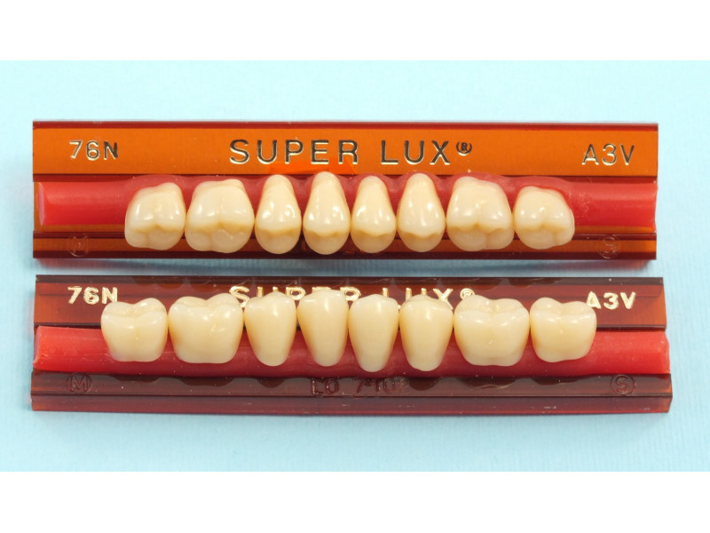 Zęby Major Superlux boki 8 szt