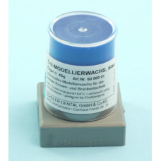 Blue modeling wax 45g Schuler Dental