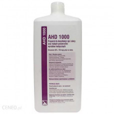 Hand preparation AHD 1000 1000ml Unavailable until further notice