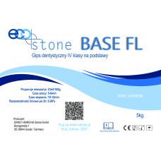Gips IV kl.Eco Stone Base FL na podstawy 5 kg Ciemno niebieski