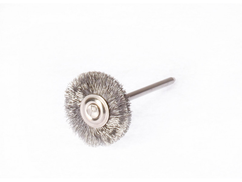 21mm steel wire brush on a Polirapid handle