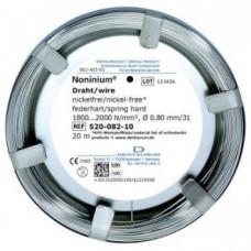 Drut Noninium (bezniklowy) 0,8mm.spr-tw./20m.