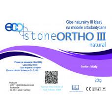 Gips  III kl. Eco Stone Ortho 25 kg Natural biały