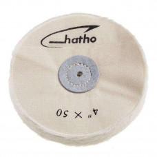 Hatho - 4x50 (100 mm) bavlnený štít z mušelínu