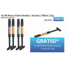 4x SR Nexco Paste Dentin / Incisal / Effect 2.5g