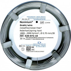 Noninium wire (nickel-free) 0.7mm spr-tw. / 30m.