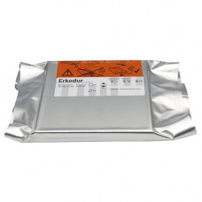 Erkodur Vierkantfolie 125x125mm 0,8mm (20 Stück)