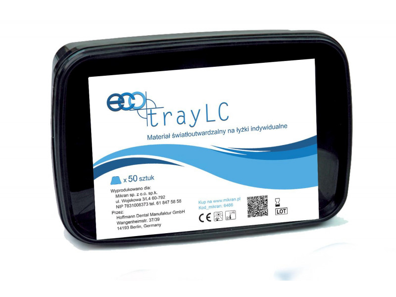 ECOtray LC Light-curing material for individual paddles. Promotion
