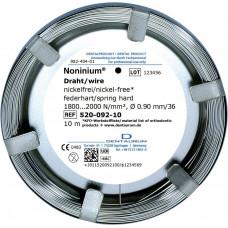 Noninium wire (nickel-free) 0.9mm spr-tw. / 10m.