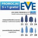 Gumki Silikonowe błękitne Promocja Kup 5 sztuk szósta Gratis