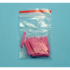 Pins for the stand for ceramics pink 10 pcs
