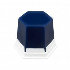 Wosk GEO Classic niebieski transparentny 75g
