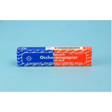 Jednoduchý pauzovací papír 40u - modro-červený BK80