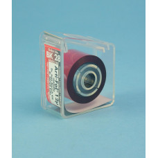 Obtisk Arti-fol metalická černá a červená 12u BK28