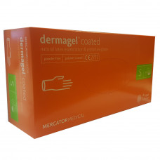 Dermagel latex gloves powder-free S