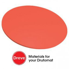 Dreve Drufosoft color 120mm 3mm (10pcs) neon-red (neon red)
