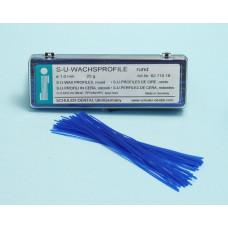 SU 1.0mm round wax profiles
