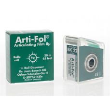 Tracing paper Arti-Fol 8u one-sided green BK22