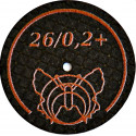 Motyl ściernica wzmocniona ultracienka 26/02+ BF